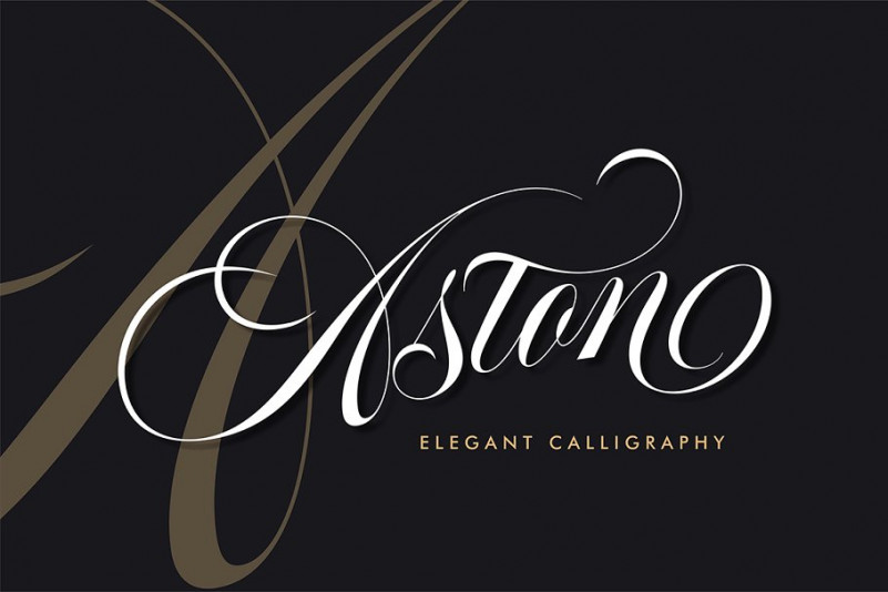 Aston Calligraphy Font Free Download [Direct Link]