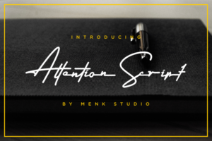 Attention Signature Font Free Download [Direct Link]
