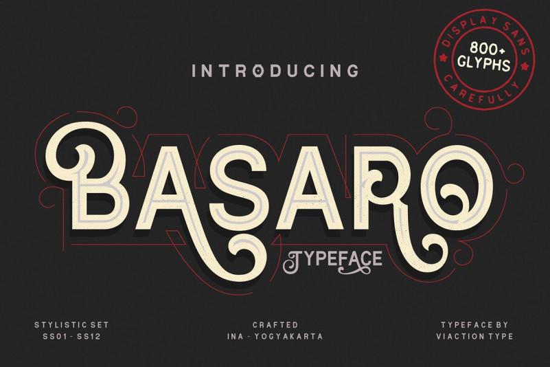 Basaro Display Font Free Download [Direct Link]