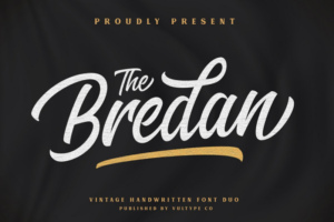 Bredan Font Duo Free Download [Direct Link]