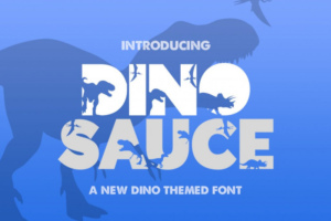 Dinosauce Typeface Free Download [Direct Link]