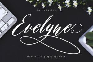 Evelyne Script Font Free Download [Direct Link]