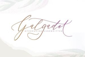 Galgadot Handwritten Free Download [Direct Link]