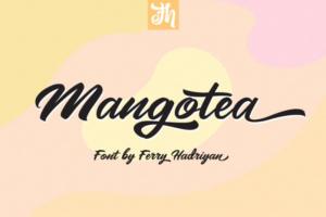 Mangotea Script Font Free Download [Direct Link]