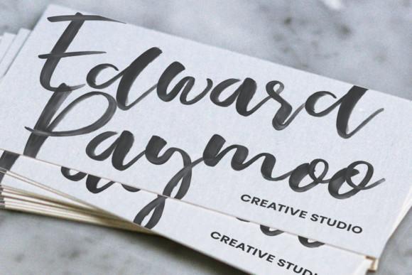 troothusan-brush-font-free