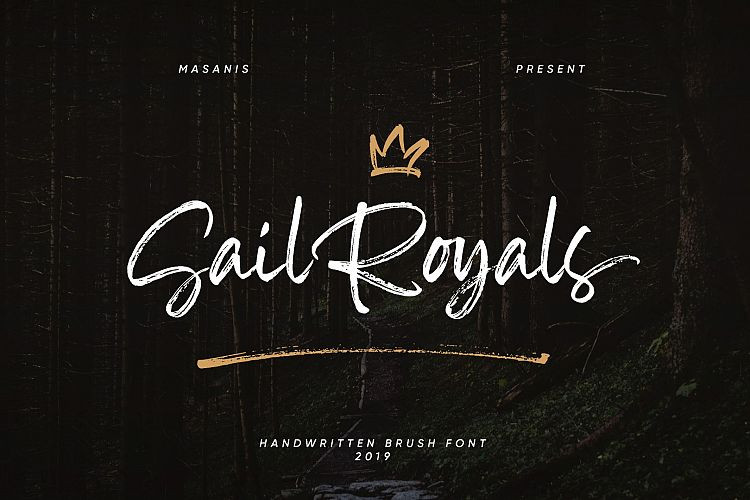Sail Royals Brush Font Free Download [Direct Link]