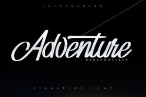 Adventure Script Font Free Download [Direct Link]