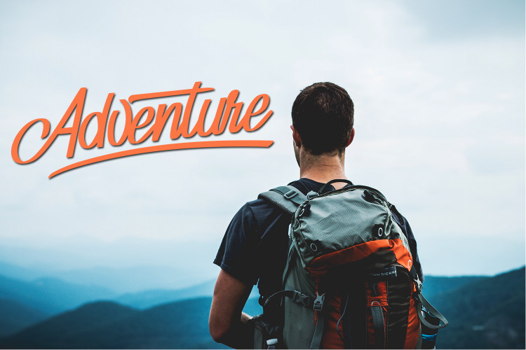 adventure script font free