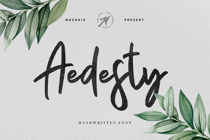 Aedesty Handwritten Font Free Download [Direct Link]