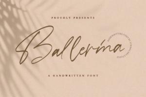 Ballerina Script Font Free Download [Direct Link]