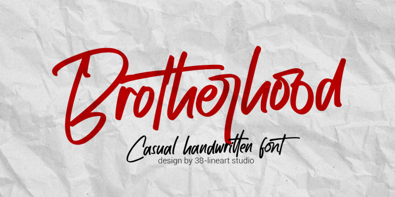 Brotherhood Font Free Download [Direct Link]