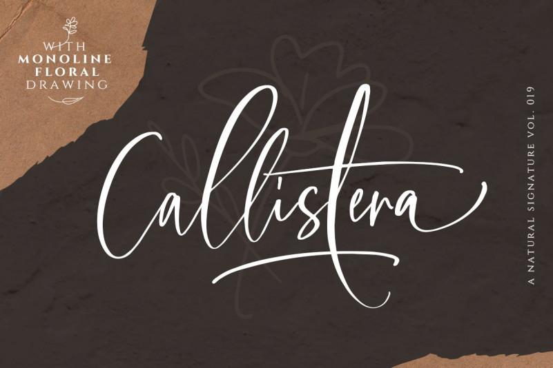 Callistera Script Font Free Download [Direct Link]