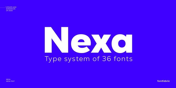 Nexa Font Family Free Download [Direct Link]