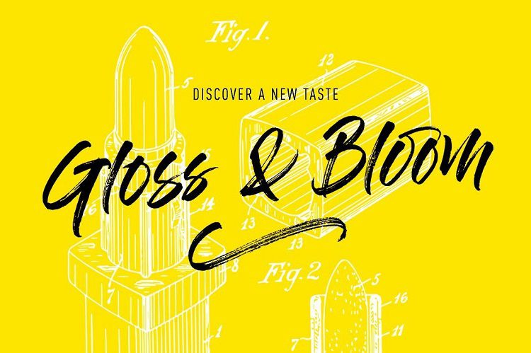 Gloss And Bloom Font Free Download [Direct Link]