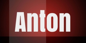Anton Font Free Download [Direct Link]