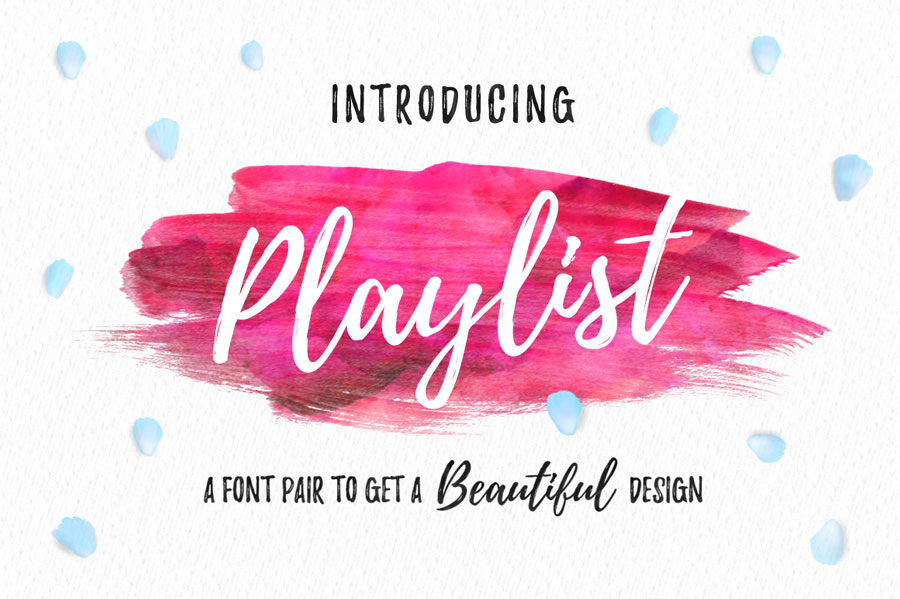 Playlist Script Font Free Download [Direct Link]