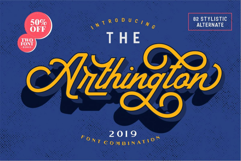 The Arthington Font Free Download [Direct Link]