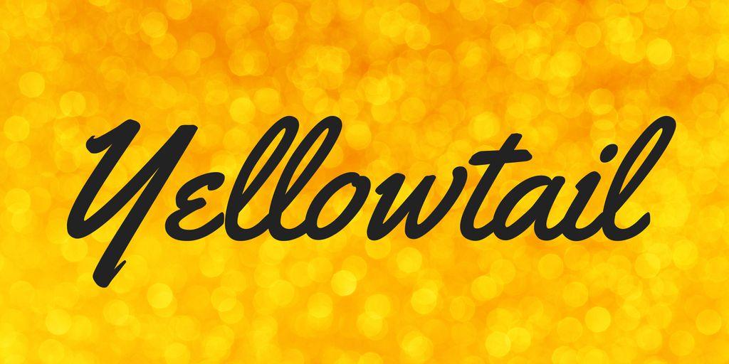 yellowtail-font