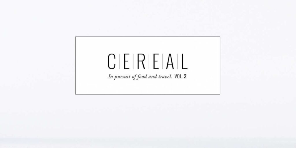 Cereal Magazine font free download