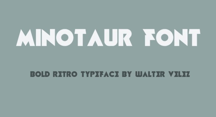 Minotaur Font Free Download [Direct Link]