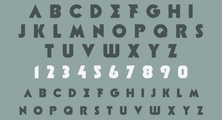 Minotaur Font Preview