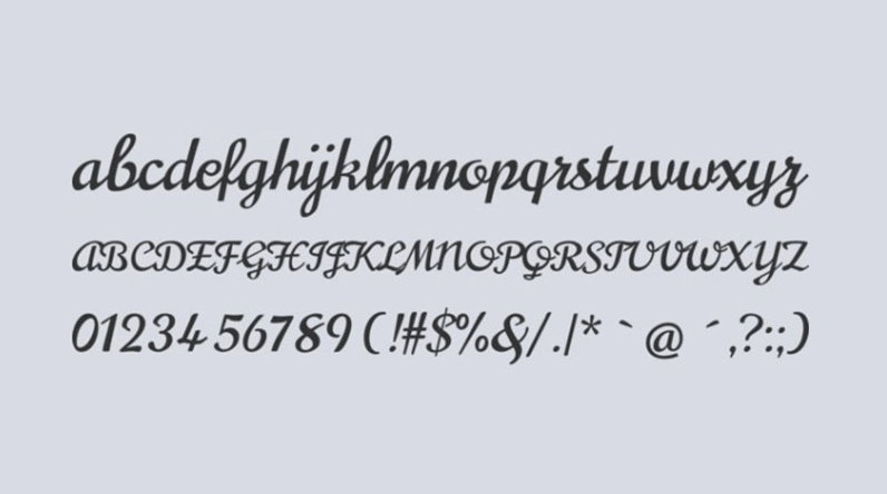 Norican font preview