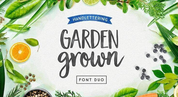 Garden Grown Font Free Download [Direct Link]