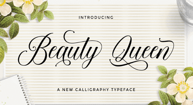 Beauty Queen Font Free Download [Direct Link]