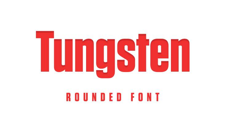 Tungsten Font Free Download [Direct Link]