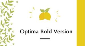 Optima Bold Font Free Download [Direct Link]