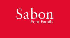 Sabon Font Free Download [Direct Link]