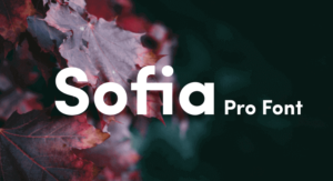 Sofia Pro Font Free Download [Direct Link]