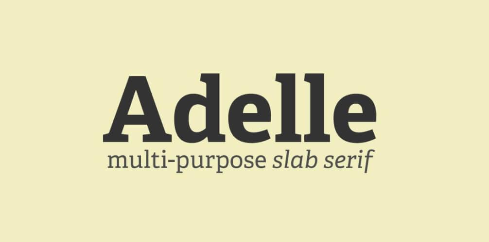 Adelle-Font