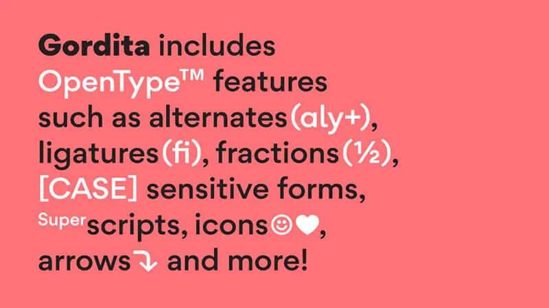 Gordita-Font-Family-Download
