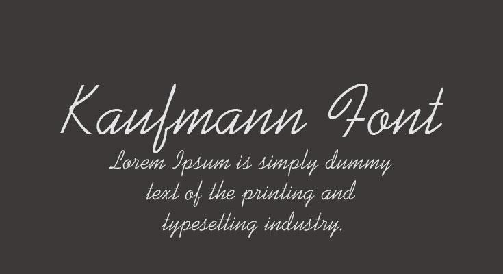 Kaufmann Font Free Download [Direct Link]