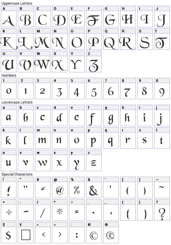 black-chancery-font