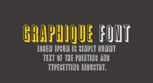 Graphique Font Free Download