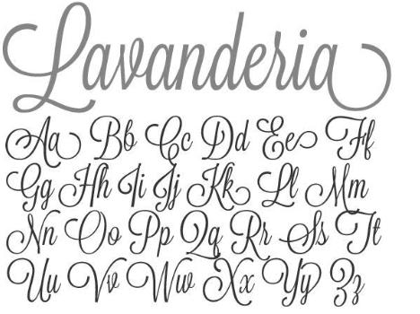 Lavenderia-font