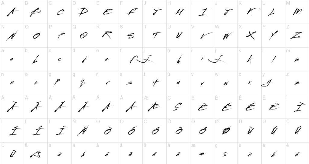 Streetbrush-Brush-Font