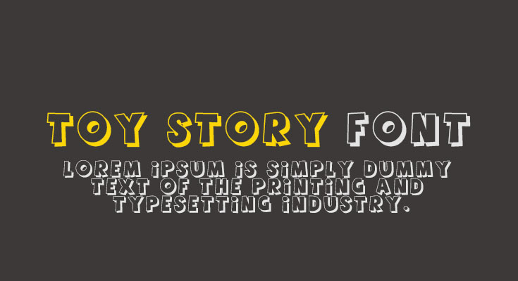 Toy Story Font Free Download