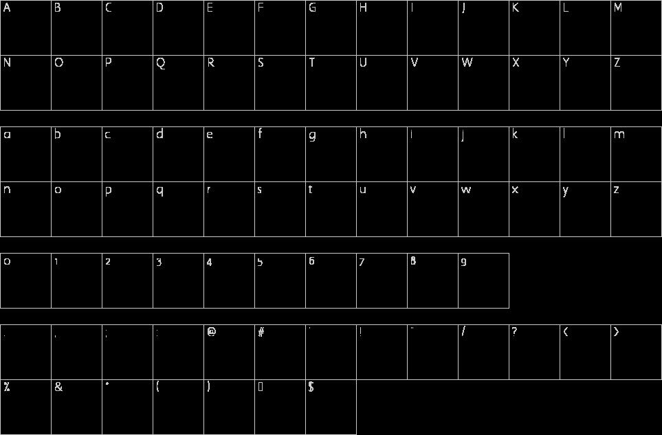 bodoni font preview