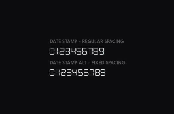 Datestamp-font-preview