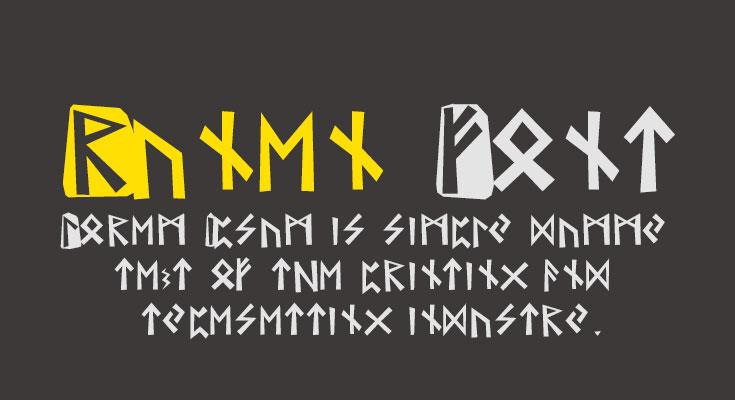 Runen Font Free Download