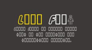 Lego Font Free Download