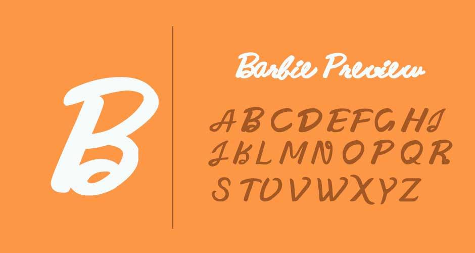 Barbie-Font-free