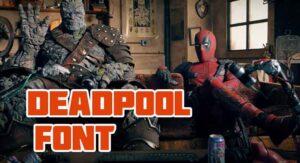 Deadpool Font Free Download