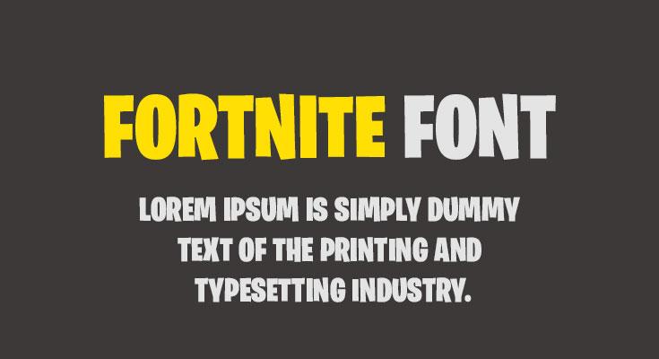 Fortnite-Font-Free-Download