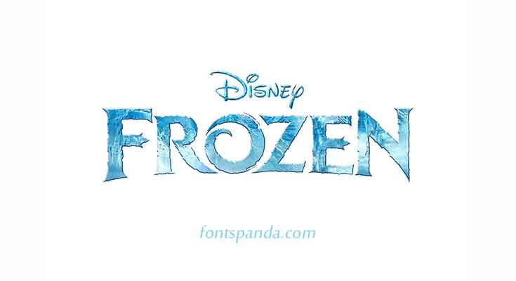 Frozen Font Free Download