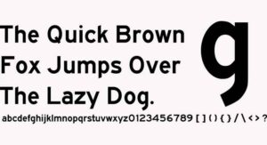 Highway Gothic Font Free Download