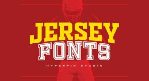 Jersey Font Free Download